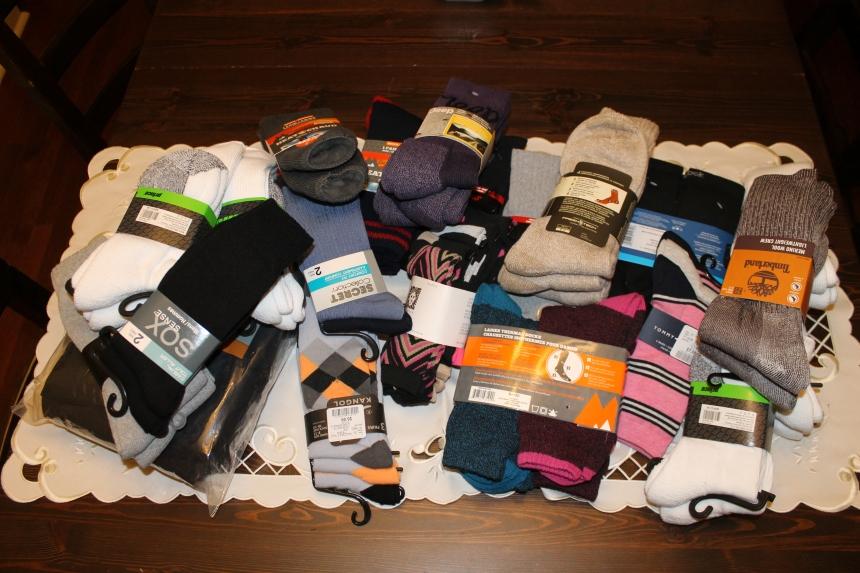 71 Pairs of Socks